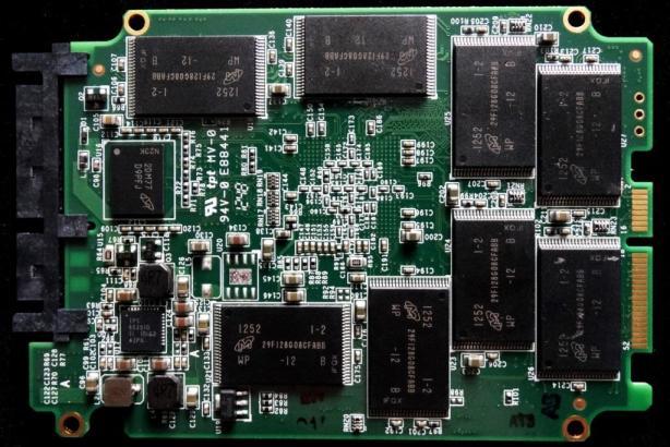 OCZ Vertex 450 PCB Back
