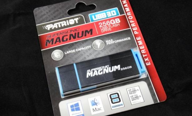 Patriot Supersonic Magnum 256GB Flash Drive Featured