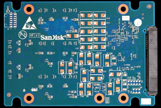 SanDisk Extreme II 480GB SSD PCB Back