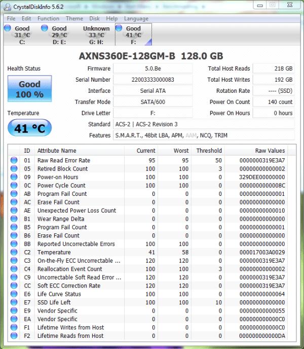 ADATA MPCIe 128GB CDI