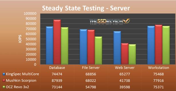 Steady State PCIE Server2