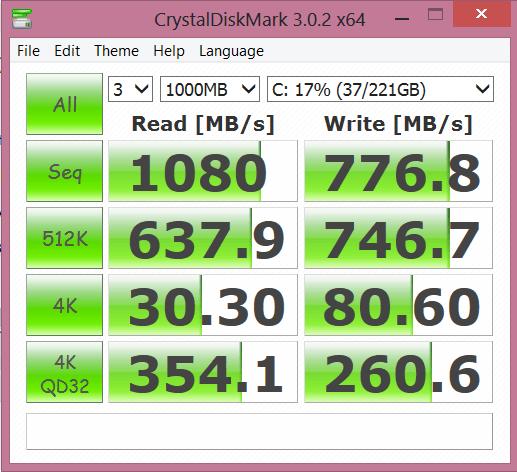 VAIO Pro 13 256GB SSD CDM