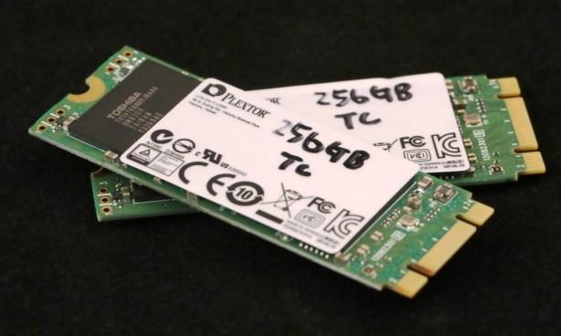 Plextor M6e PCIe SSD x2