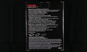 Toshiba Q Pro SSD Exterior Back