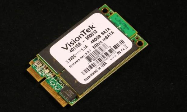 Visiontek 480GB mSATA SSD Closer1