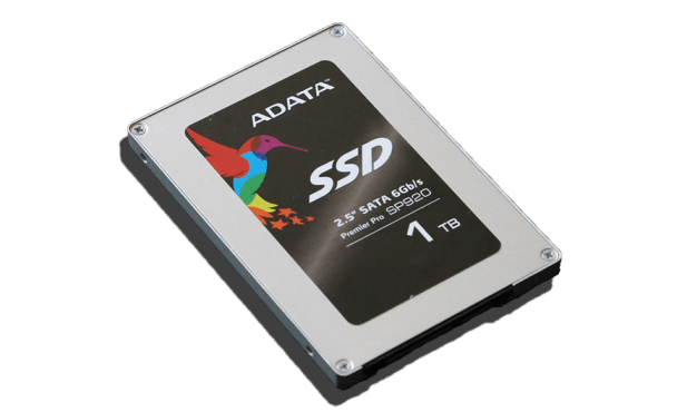 ADATA SP920 Premier Pro 1TB SSD Angled 2