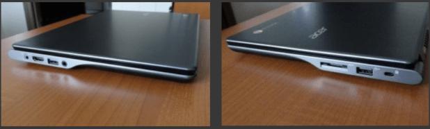 Acer Chromebook Ports