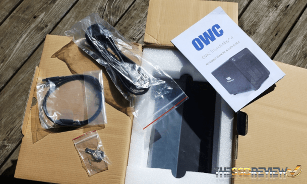 OWC ThunderBay 4 Contents