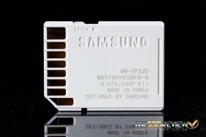 Samsung EVO SDHC 32GB Back