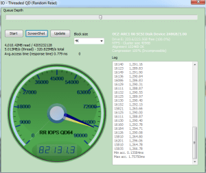 OCZ ARC 100 240GB Anvil Storage Utilities IOPS Read
