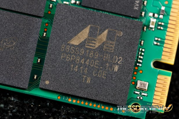 Micron M600 mSATA 256GB Controller
