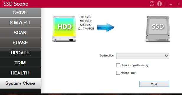 SSD Scope Clone