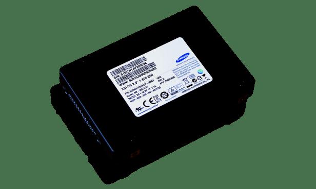 Samsung XS1715 1.6GB NVMe SSD 3x5 Angled