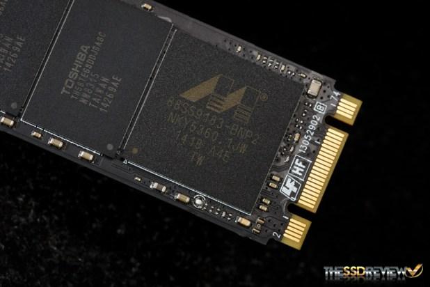Plextor M6e Black Edition 256GB Controller