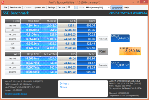 ADATA SP900NS38 256GB Anvil Incompressible