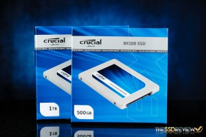 Crucial BX100 Box Front