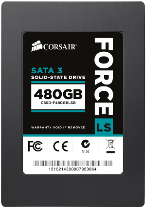 Force LS 480GB front view