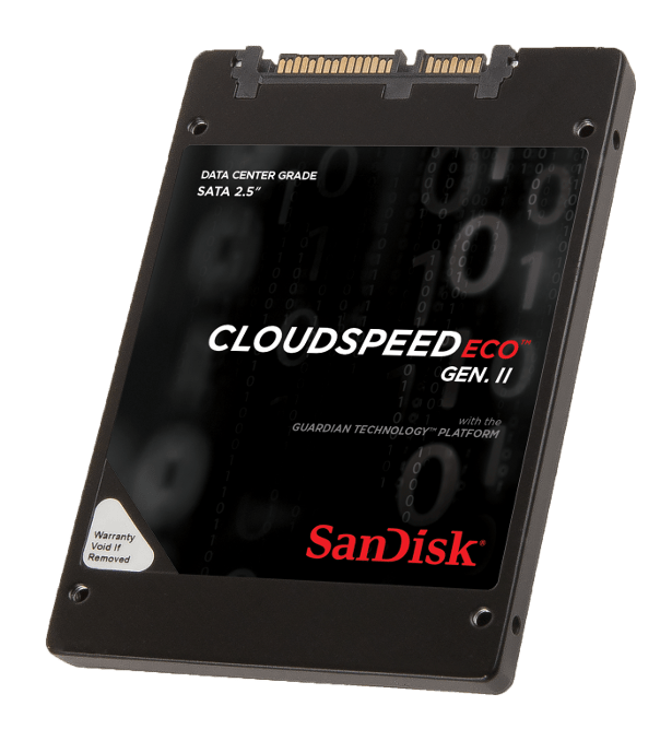 CloudSpeed Eco Gen. II SATA SSD - angle png - 05212015 REVISED