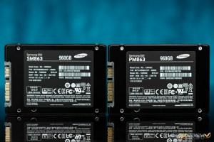 Samsung SM863 & PM863 960GB Back