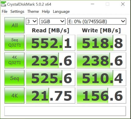 NovaChips 8TB SSD CDM