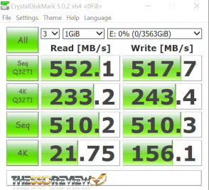 NovaChips Scalar Series 4TB NS370 SATA 3 SSD CDM oFill WM