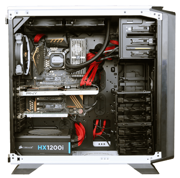 TSSDR Corsair Z170 Test Bench 1090