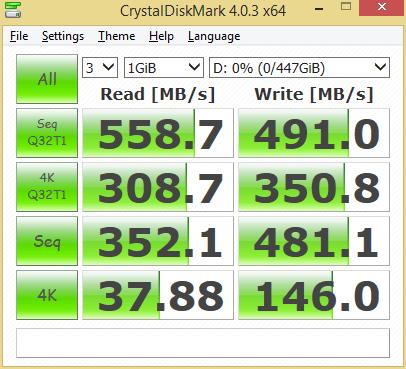 Crucial BX200 480GB CDM
