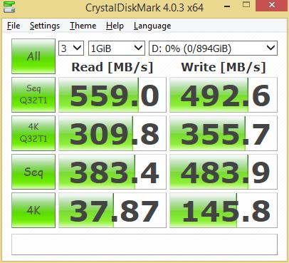 Crucial BX200 960GB CDM