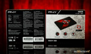 PNY XLR8 CS2211 SSD Packaging