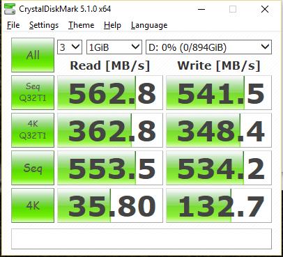 OCZ Trion 150 960GB SSD CDM