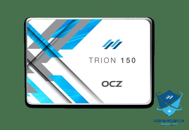 OCZ Trion 150 headon view
