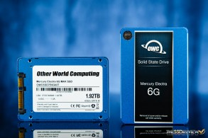 OWC Mercury Electra 6G MAX 2TB SSD Front and Back