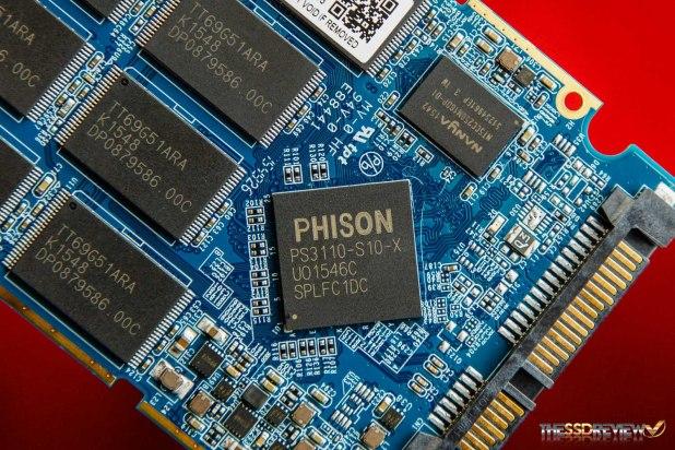 PNY CS1311 SSD Controller DRAM NAND