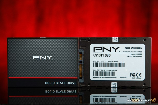 PNY CS1311 SSD Front and Back