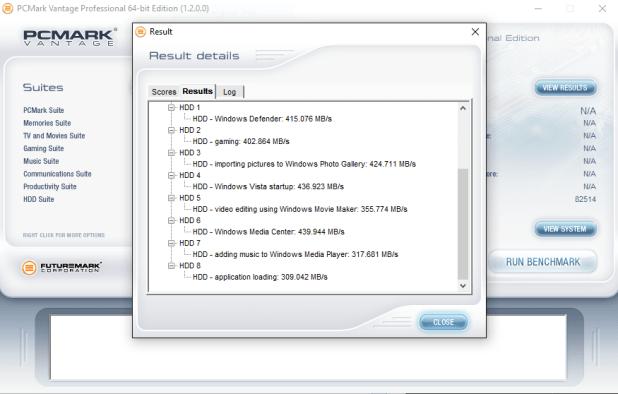 Samsung 750 EVO 120GB Tests 3