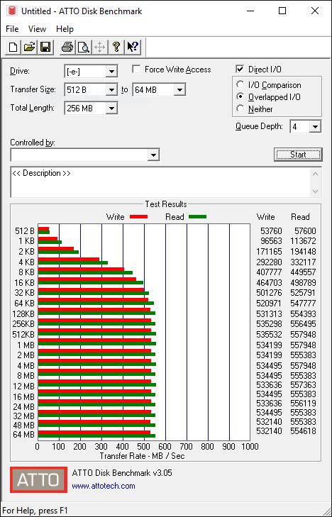 Samsung 750 EVO 120GB Tests 4