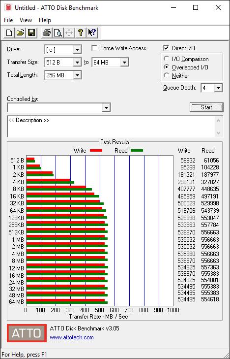 Samsung 750 EVO 250GB Tests 4