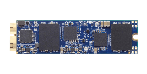 OWC Aura PCIe SSD front view
