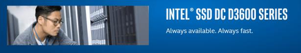 Intel DC D3600 banner