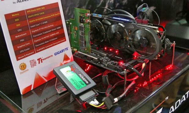 ADATA SR1020 NVMe SSD