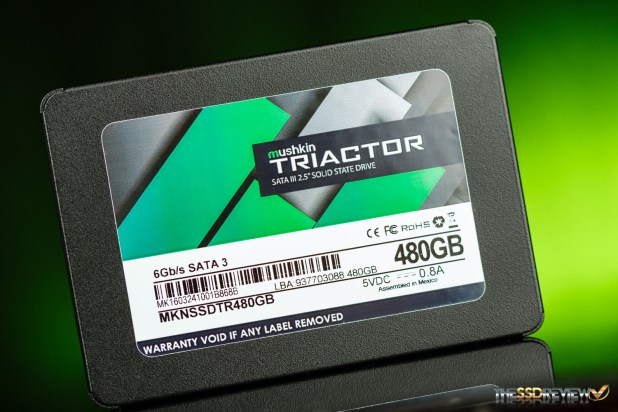 Mushkin Triactor SSD Main