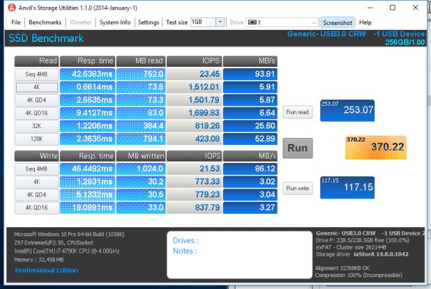 Samsung EVO Plus microSDXC 256GB Anvil