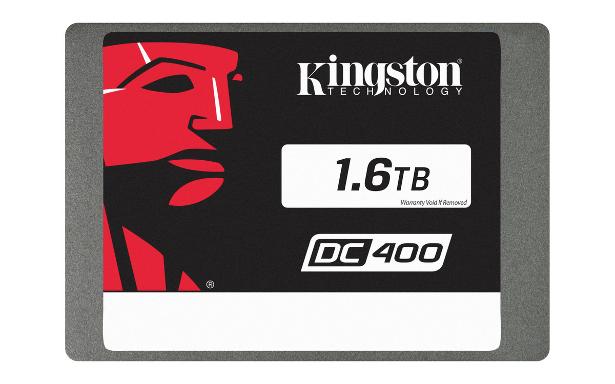 Kingston DC400 SSD 1.6TB front view