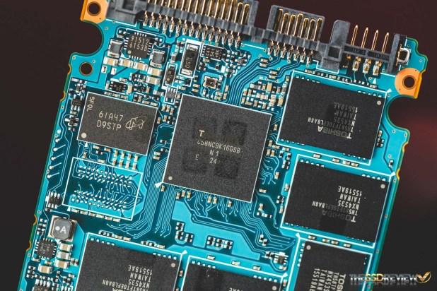 Toshiba HK4E 800GB Controller