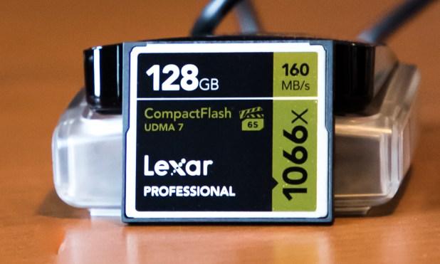 Lexar 128GB Professional 1066x CF Card