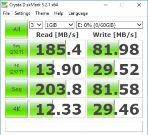 Apricorn Aegis Secure key 3z 64GB Test 4