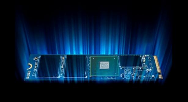 TeamForce Cardea Mdot2 SSD special effect