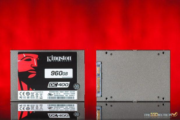 Kingston DC400 960GB SSD Exterior