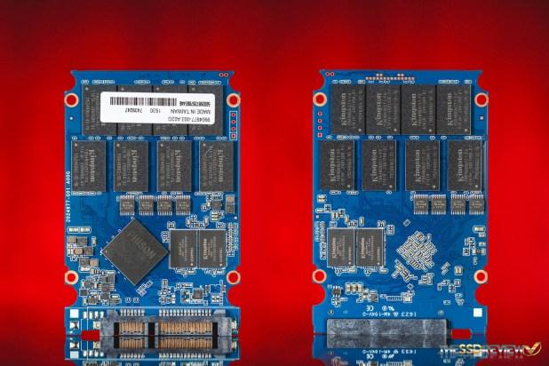 Kingston DC400 960GB SSD PCB