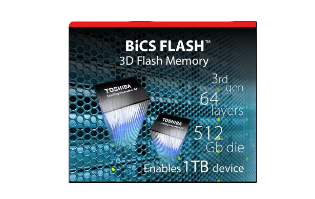 Toshiba XG5 Bics flash